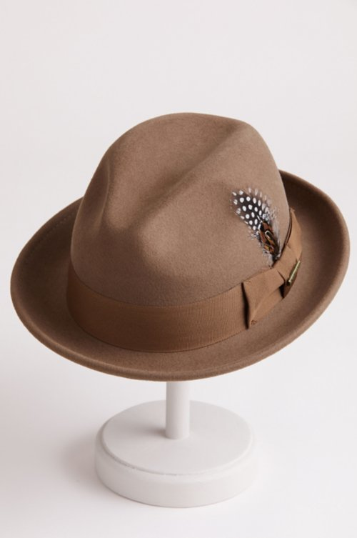 Chanteur Wool Felt Fedora Hat