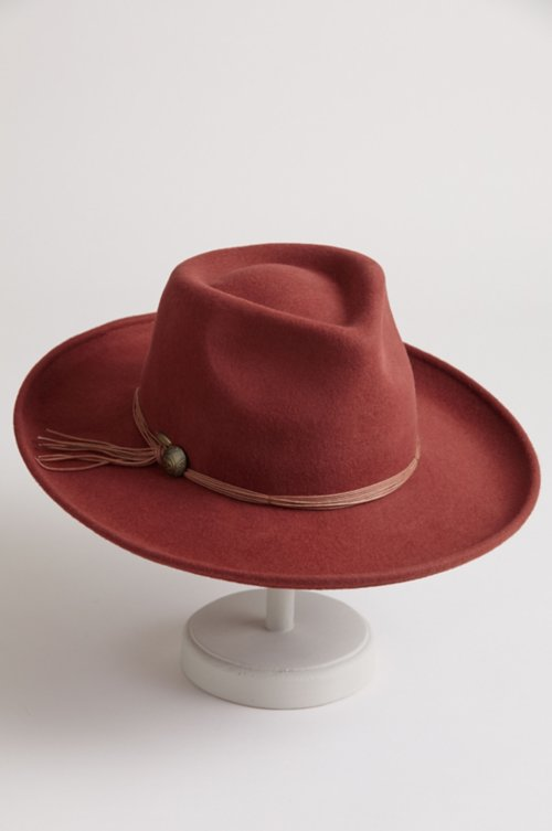 Sicily Crushable Wool Felt Outback Hat