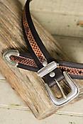 Overland Walker Bison Leather Belt