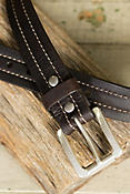 Overland Mojave II Bison Leather Belt