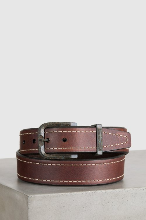 Granada Bison Leather Belt
