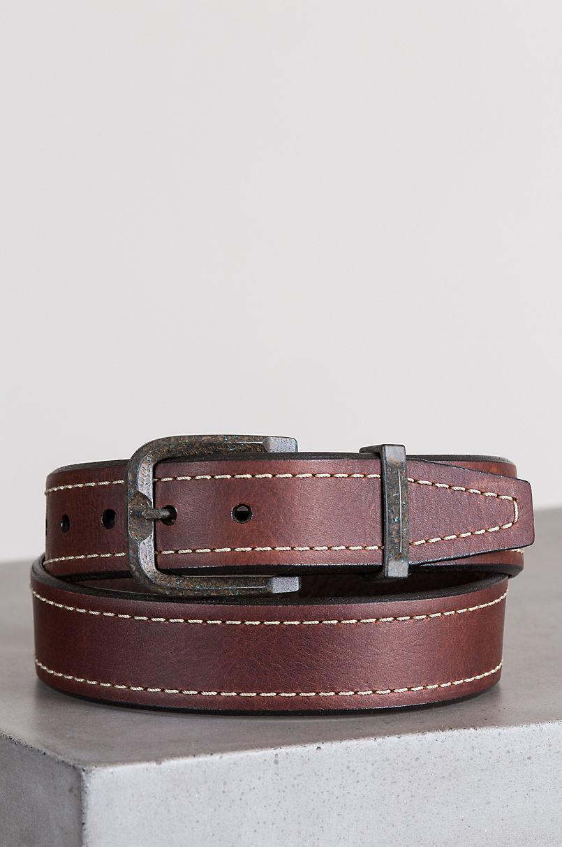 Overland Granada Bison Leather Belt