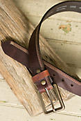 Overland Appaloosa Bison Leather Belt