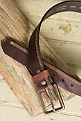 Overland Appaloosa Bison Leather Belt
