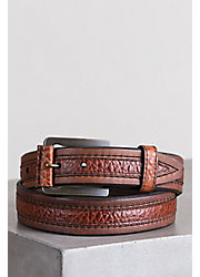 Overland Chippewa Bison Leather Belt