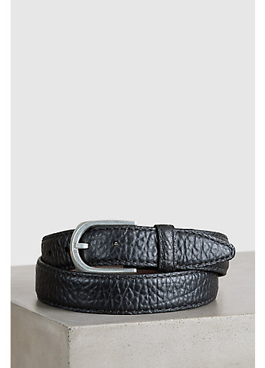 Overland Pinnacle Bison Leather Belt