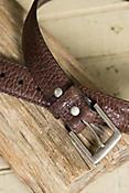 Overland Poni Bison Leather Belt