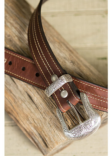 Overland El Dorado Bison Leather Belt