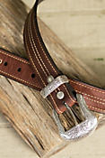 Overland El Dorado Bison Leather Belt