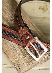 Overland Loretto Bison Leather Belt