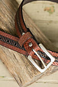 Overland Loretto Bison Leather Belt