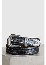 Overland Coloma Bison Leather Belt
