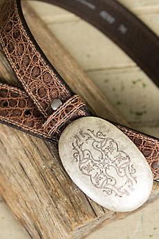 Overland Garland Calfskin Leather Belt