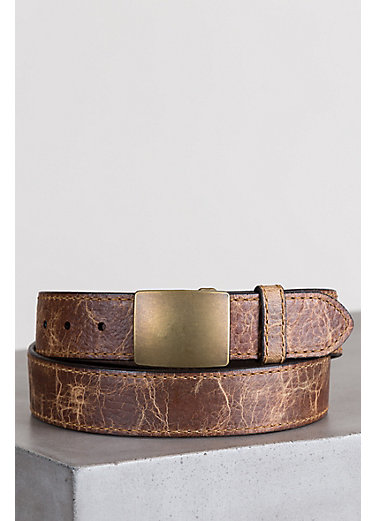 Overland Desota Bison Leather Belt