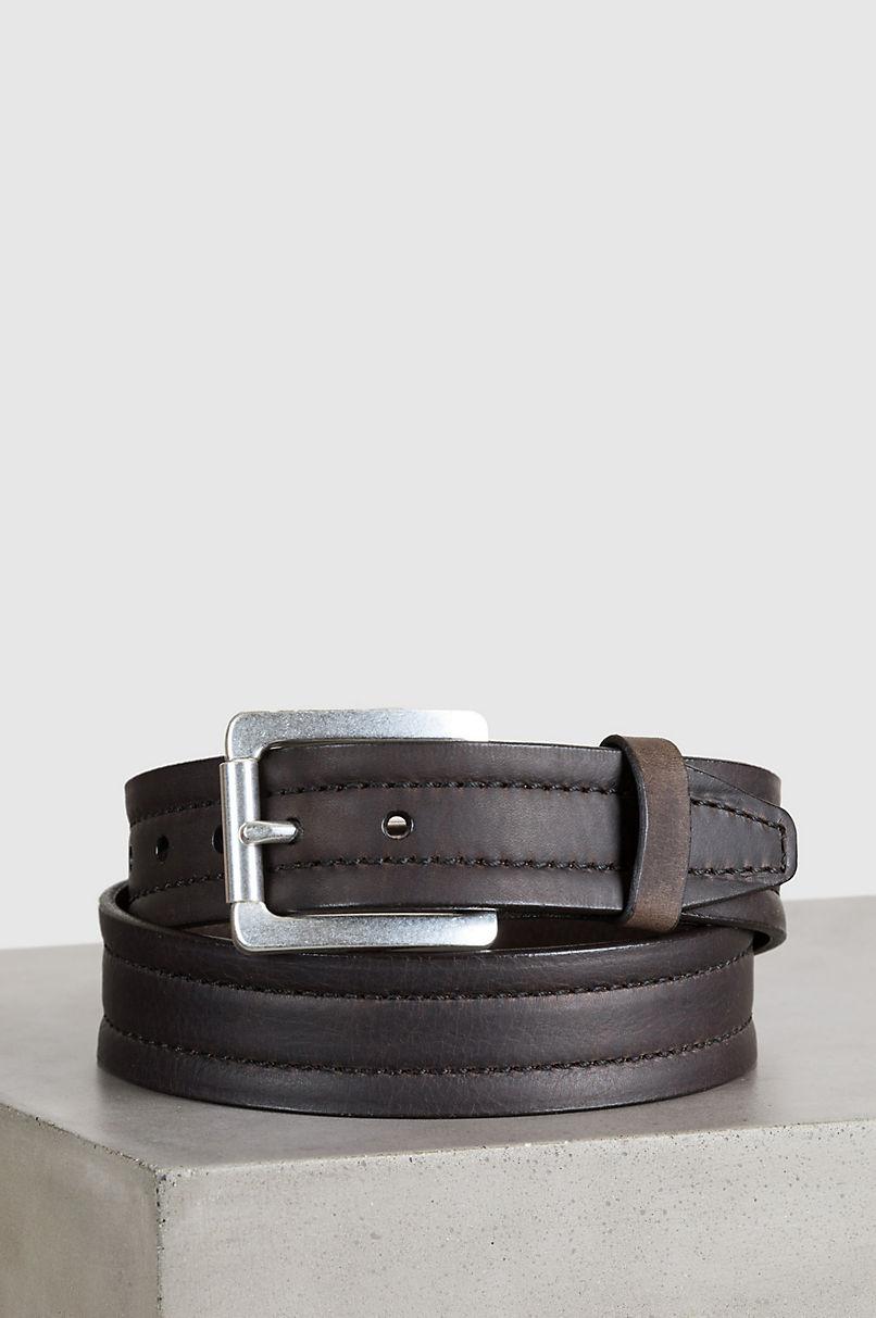 Overland Parker Bison Leather Belt