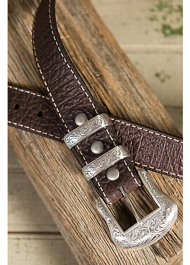 Overland Wild Bill II Bison Leather Belt