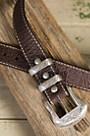 Overland Wild Bill II Bison Leather Belt