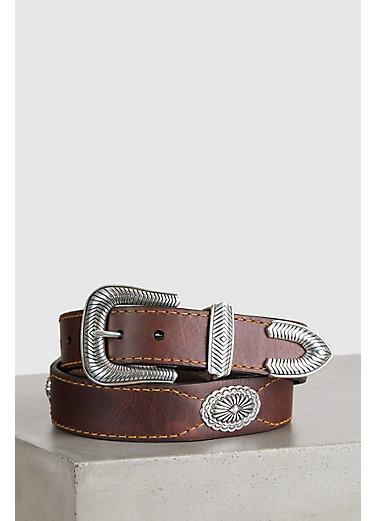 Overland Dallas Bison Leather Belt