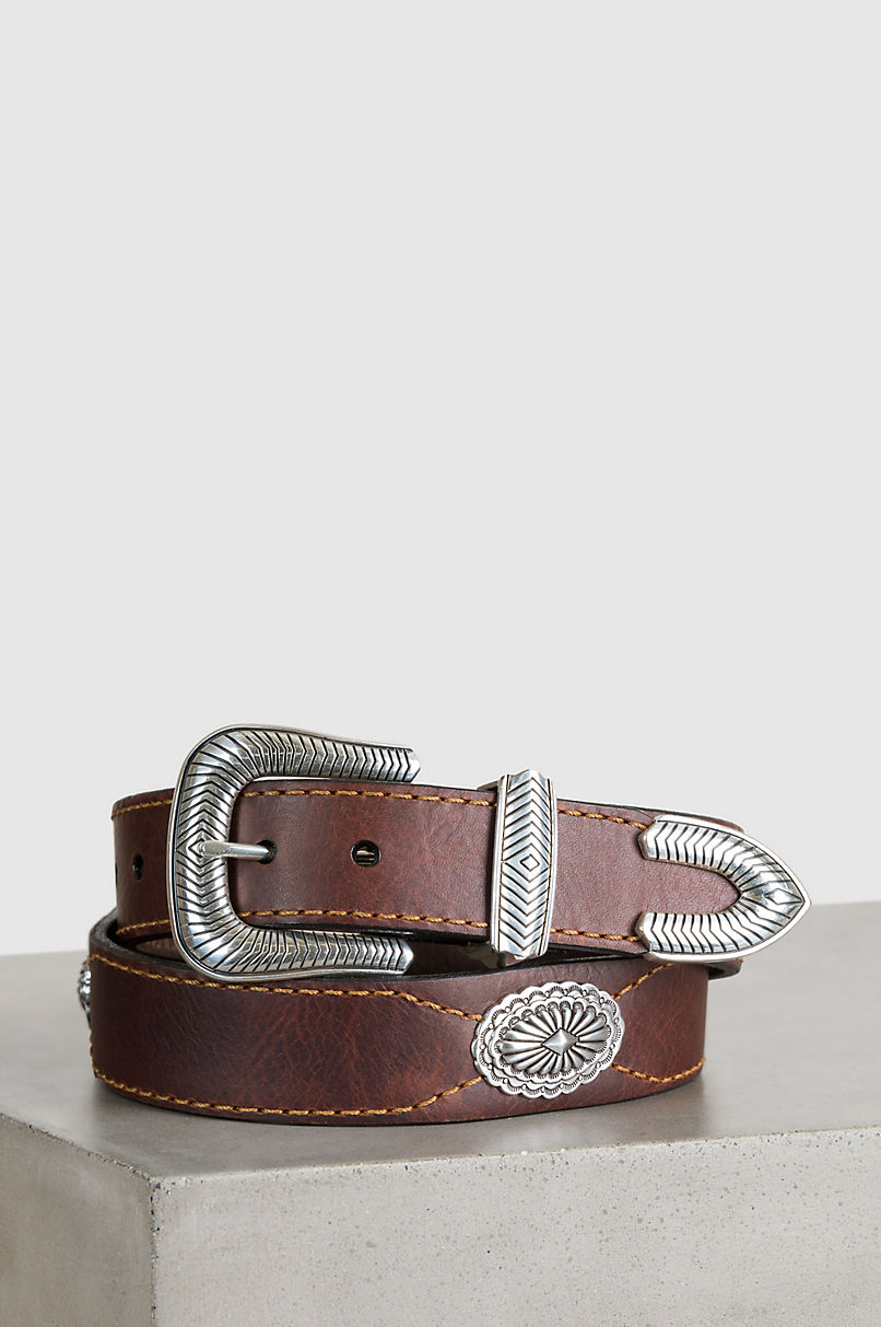 Overland Dallas Bison Leather Belt