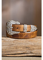 Overland Ashland Calfskin Leather Belt