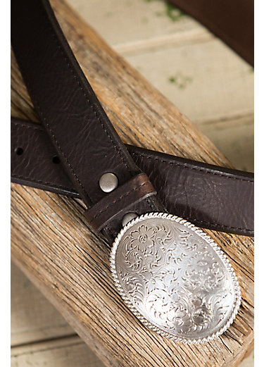Overland Alamo Bison Leather Belt