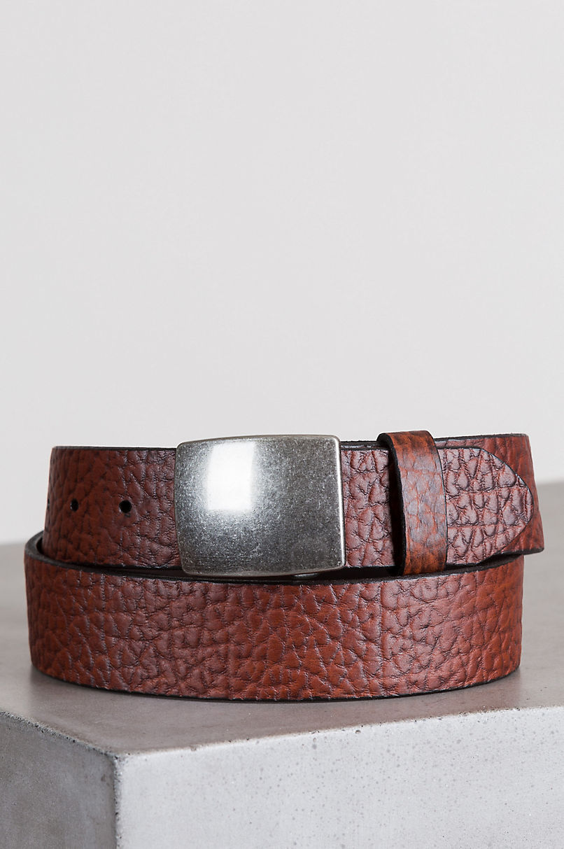 Chesterville Bison Leather Belt