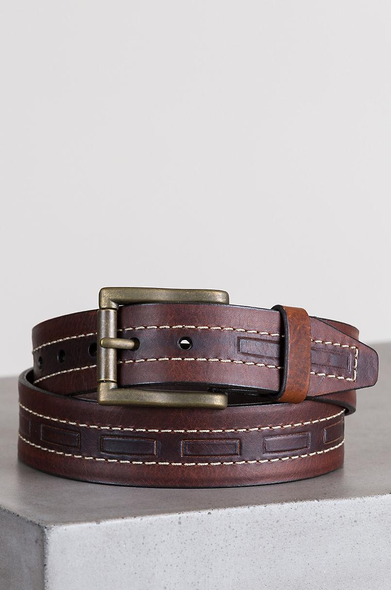 Tobasco Bison Leather Belt