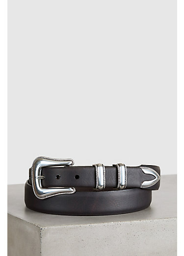 McCoy II Bison Leather Belt