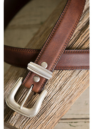 Blackwater II Bison Leather Belt
