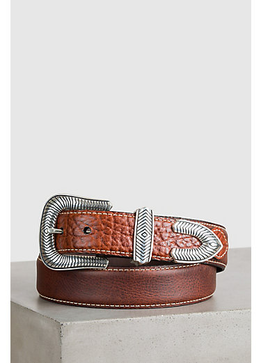 Pickett Bison Leather Belt