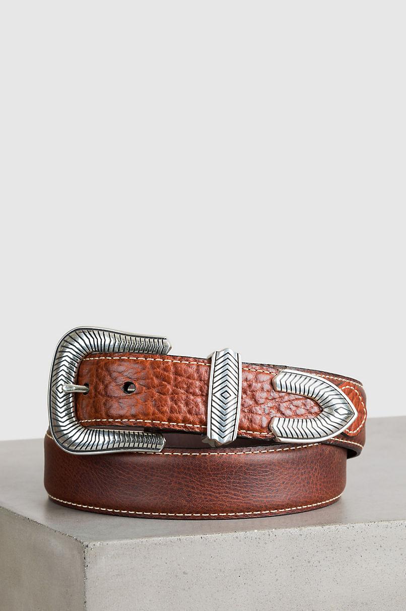 Pickett Bison Leather Belt