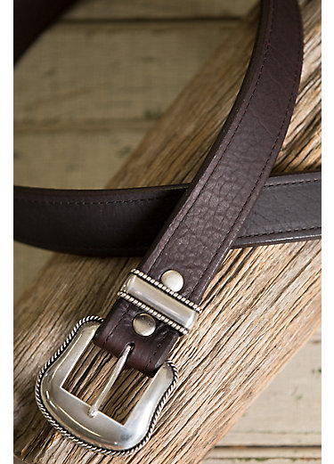 Cash Bison Leather Belt