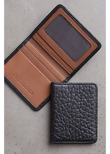 Tucson Bison Leather Credit Card Wallet