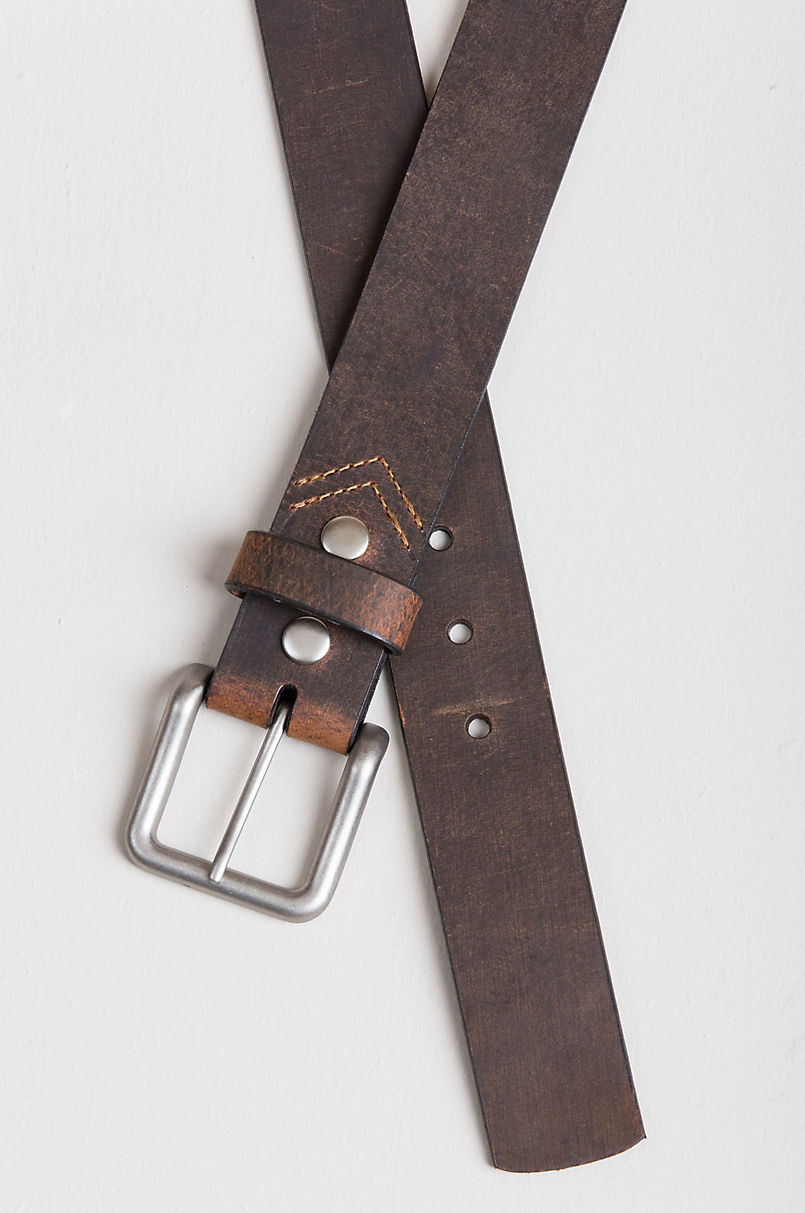 Pointer Tanned Buffalo Leather Belt