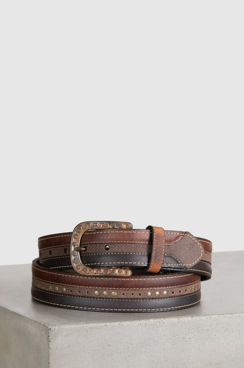 Rowan American Bison Leather Belt
