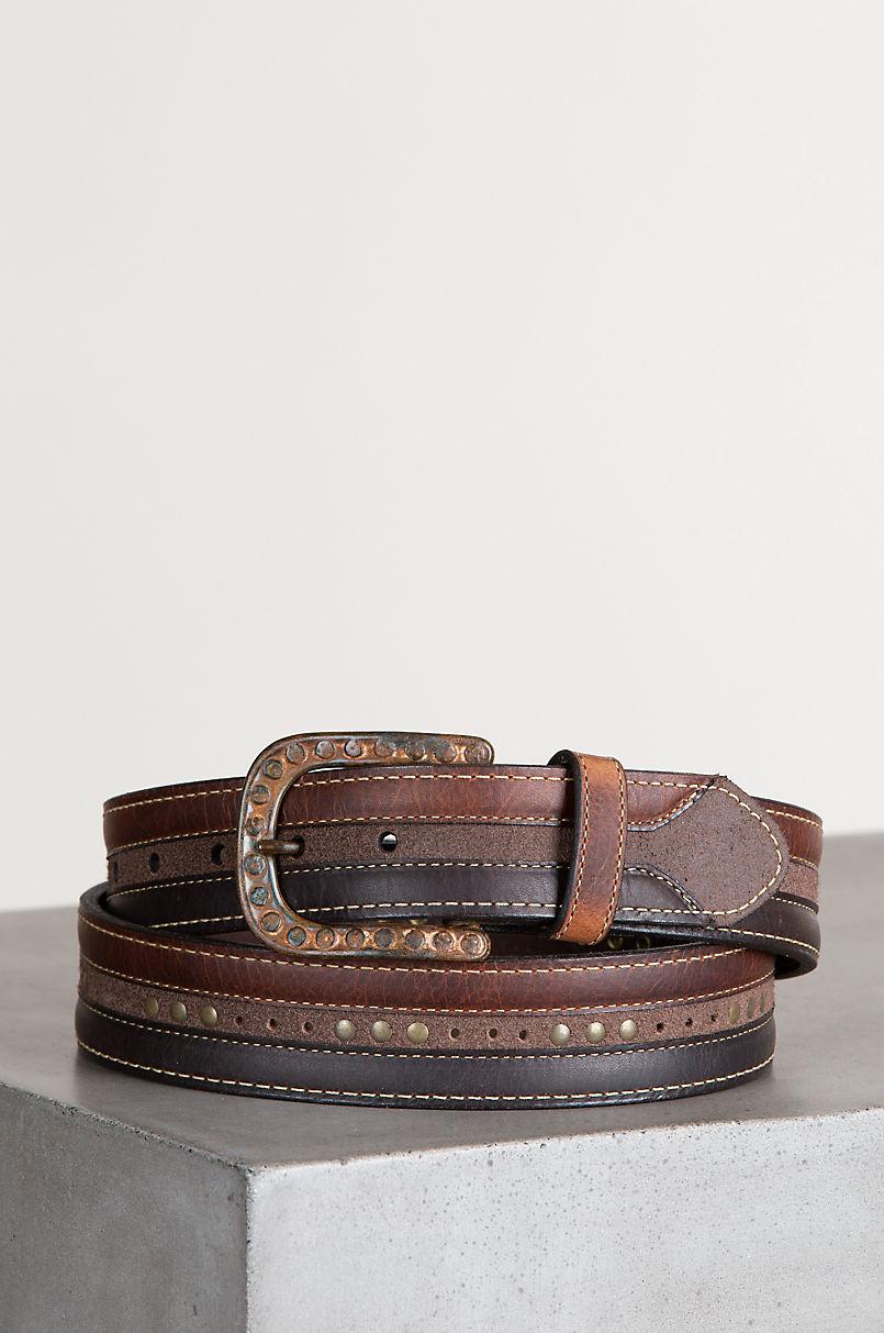 Rowan Bison Leather Belt