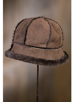 Merino Shearling Sheepskin 6-Panel Bucket Hat
