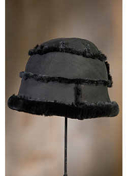 Merino Shearling Sheepskin Bucket Hat