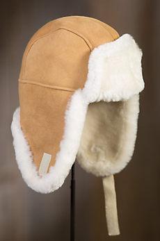 Australian Merino Shearling Sheepskin Trapper Hat
