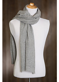 Overland Solid Cashmere Scarf