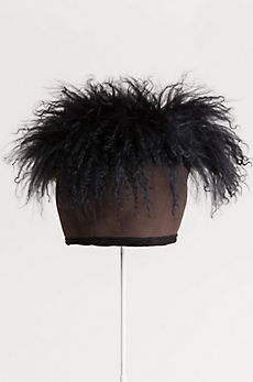 Mongolian Wig Shearling Sheepskin Cossack Hat
