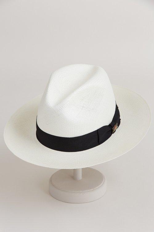 282f08ef840 Biltmore Vinard Straw Fedora Hat with Grosgrain Hatband. Style # 75804