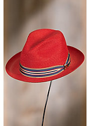 Biltmore Royce Straw Fedora Hat