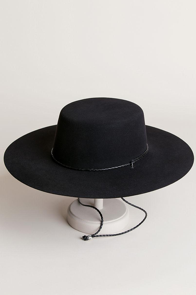 Toledo Wool Felt Gaucho Hat