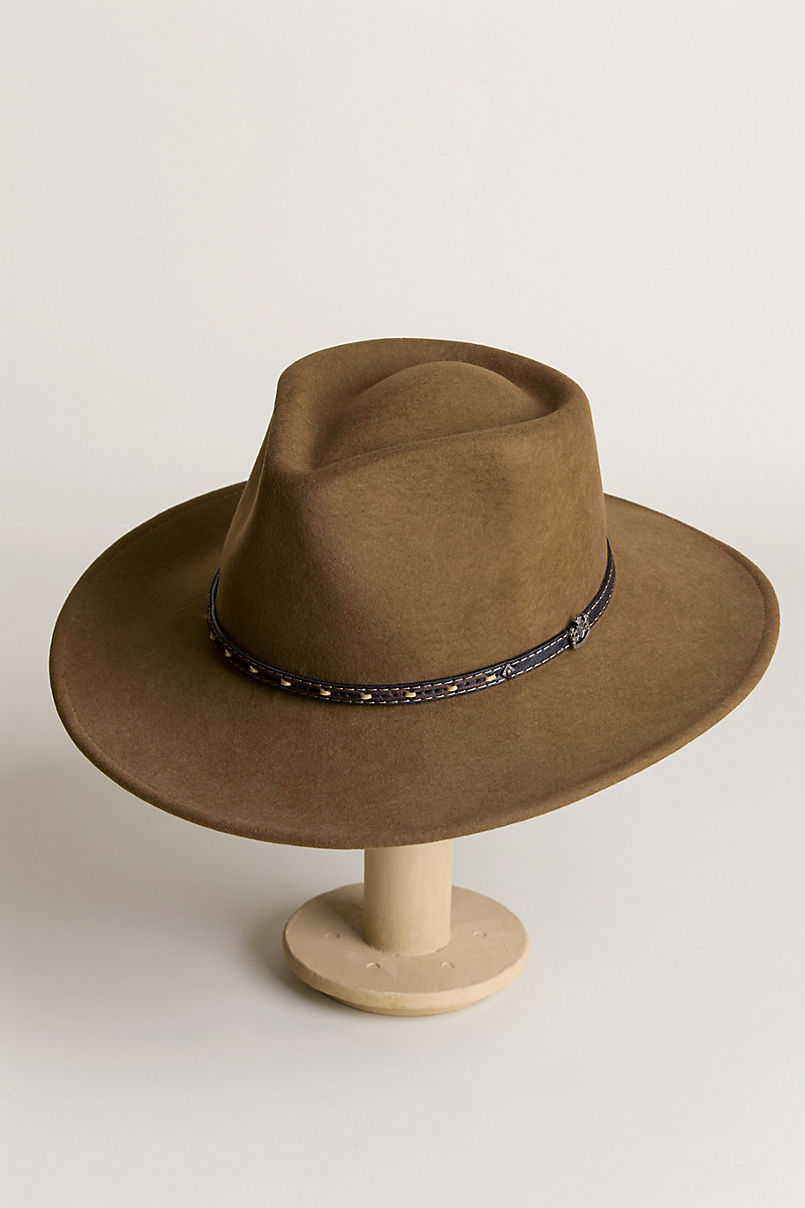 6a7f2d7f4cee0 Pathfinder Crushable Wool Felt Outback Hat