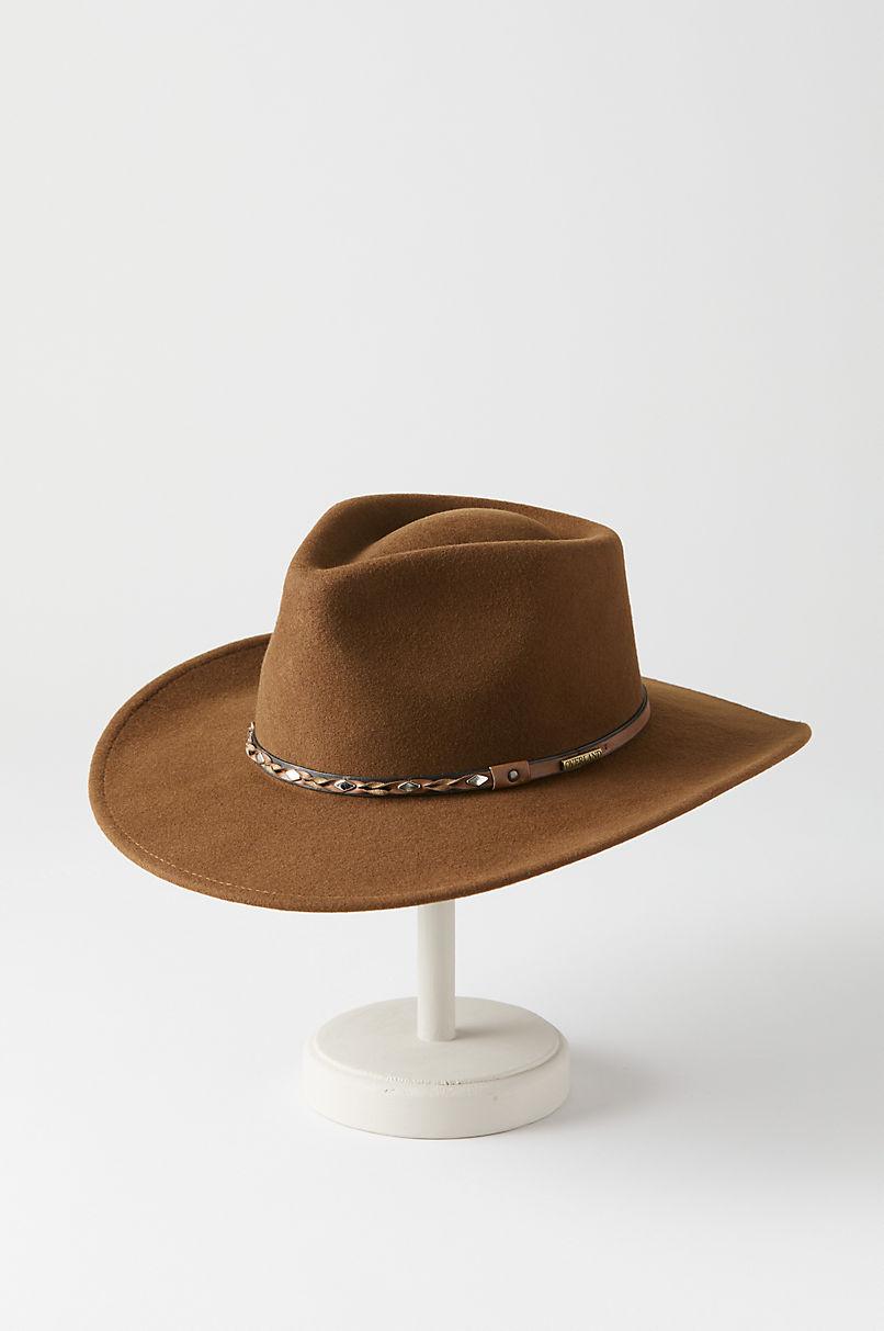 Pathfinder Crushable Wool Felt Outback Hat