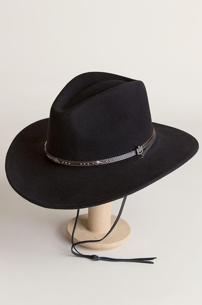 106d65fd360 Rover Crushable Wool Felt Safari Hat