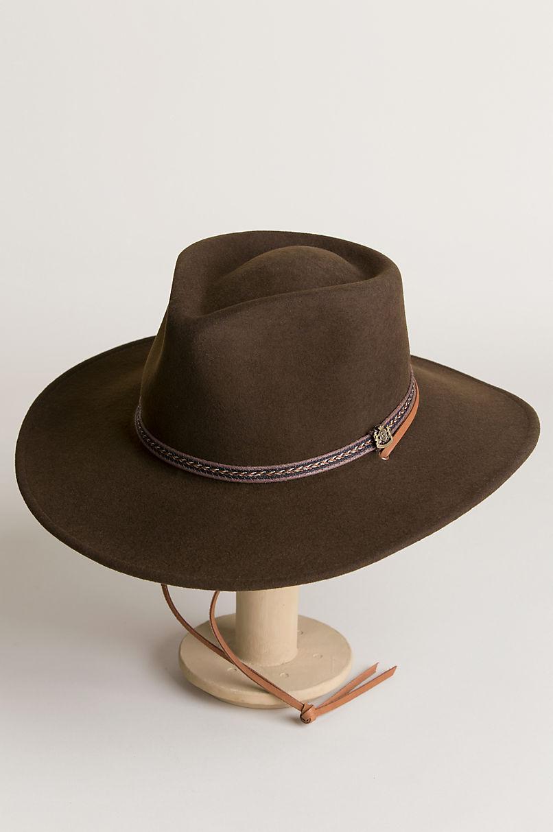 Wilderness Crushable Wool Felt Safari Hat