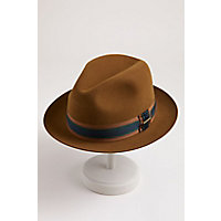 1950s Mens Hats | 50s Vintage Men's Hats Uptown Wool Felt Fedora Hat $129.00 AT vintagedancer.com