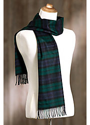 Scottish Plaid Mongolian Cashmere Scarf